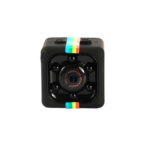 SQ11 1080P Portable Sport DV Mini Night-Vision Monitor Video Recorder Camera