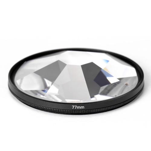 Фильтр камеры фотография размытие переднего плана пленка реквизит для фотографий 77 мм стеклянный фильтр для калейдоскопа аксессуары для камеры