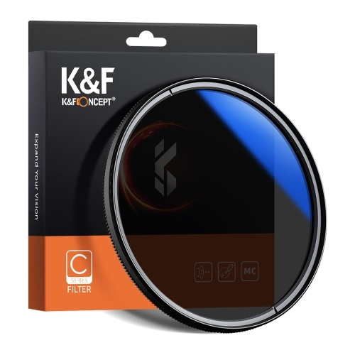 K&F CONCEPT 62mm Ultra Slim CPL Filter