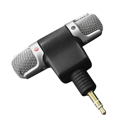 Mini microphone avec prise TRS 3,5 mm