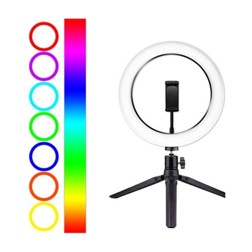 10inch/26cm RGB Ring Light LED Fill-in Light