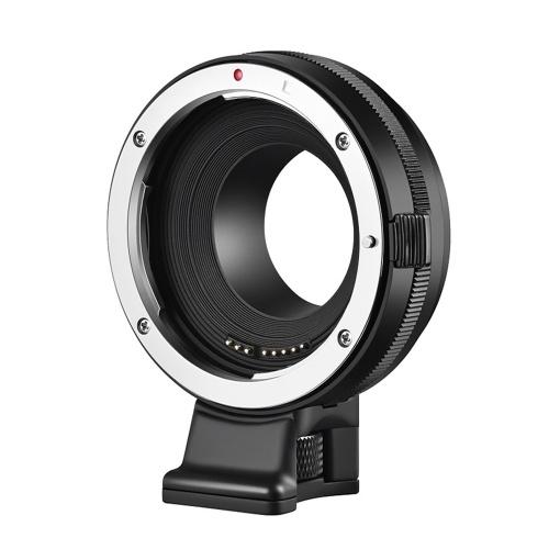Adaptateur d'objectif de caméra ALTSON EF-FX Mise au point automatique Transmission EXIF Anti-tremblement