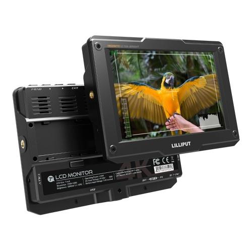 LILLIPUT H7 Monitor da 7 pollici 4K ultra luminoso sulla fotocamera