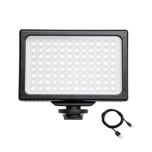 Lumière vidéo LED 3200K-5600K Dimmable Panneau LED lumière de remplissage portable de photographie