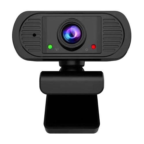 1080P HD Webcam USB Laptop Computer Camera Clip-on PC Web Camera Auto Focus Built-in Microphone