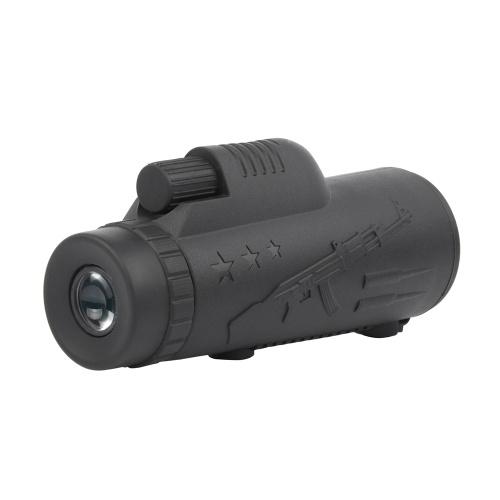 Monocular Telescope 40X60 HD Waterproof Focusing Pocket Monocular Durable and Clear FMC Film Waterproof Anti-dust
