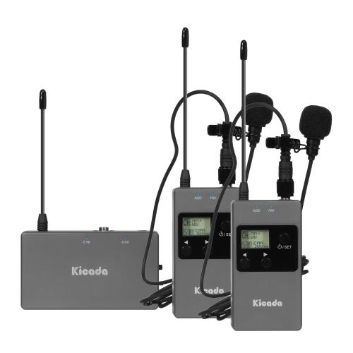 Беспроводной петличный микрофон Kicada KW-M01S
