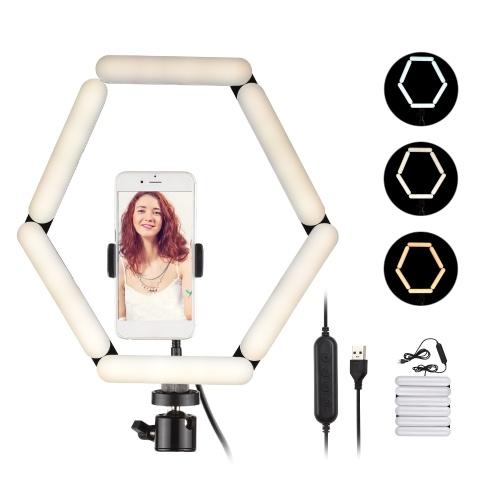Luce di riempimento per fotografia con lampada pieghevole a 6 pannelli a LED