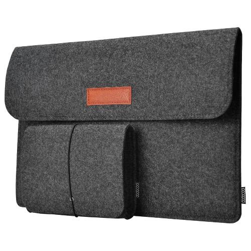 dodocool 13.3インチフェルトスリーブカバーキャリングケース保護袋
