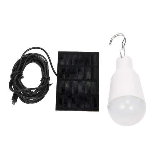 Solarbetriebene LED-Glühbirne