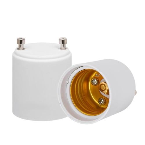 2 pcs GU24 à E26 E27 adaptateur convertisseur de prise de support ampoule LED