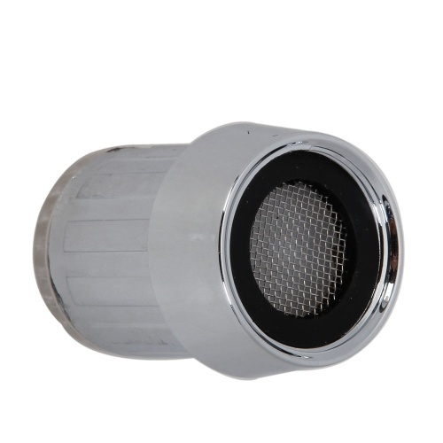Farb-LED-Lampen-Hahn 3 Farben Variable Temperaturregelung Umweltschutz und Energieeinsparung