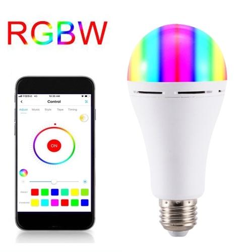 Wi-Fi Smart Light Bulb Беспроводной пульт дистанционного управления Поддержка APP Control