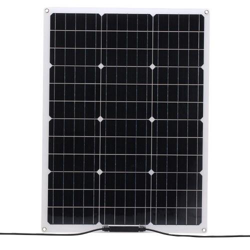 18V 20W Flexible Monocrystalline Solar Panel