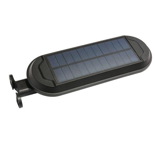 Solarbetriebenes Flutlicht 18 LED-Solarleuchten 180-Grad-Drehung IP65 Wasserdichte Sicherheitsleuchten für den Außenbereich für Haus, Garten, Rasen