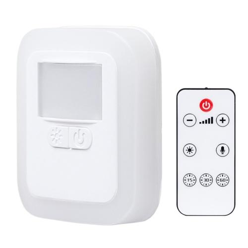 GD-8603 LED-Sensor Licht Plug-in Motion Wand Nachtlampe mit Helligkeit Beleuchtungszeit Einstellbar für Wohnzimmer Schlafzimmer Treppen AC110V