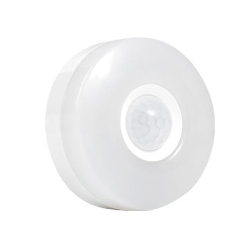 GD-8610 LED Plug-in Bewegungssensor Licht Wand Nachtlampe mit Helligkeit Beleuchtungszeit Einstellbar für Wohnzimmer Schlafzimmer Treppen AC110-240V