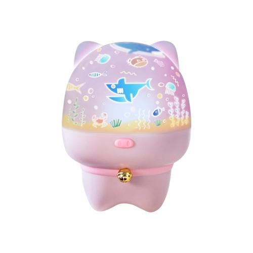 Nettes Nachtlicht 3D Lampe LED Kunstlicht Lampe USB Wiederaufladbar für Kinderzimmer Dekoration Party Dekor Geburtstagsgeschenk