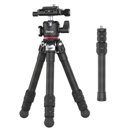 Ulanzi MT-20 Портативный штатив из углеродного волокна 71,4 см / 28,1 дюйма для фотосъемки