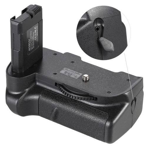 Andoer BG - 2G Vertical Batterie Grip support pour Nikon D5100 D5200 D5300 DSLR caméra EN-EL 14 batterie