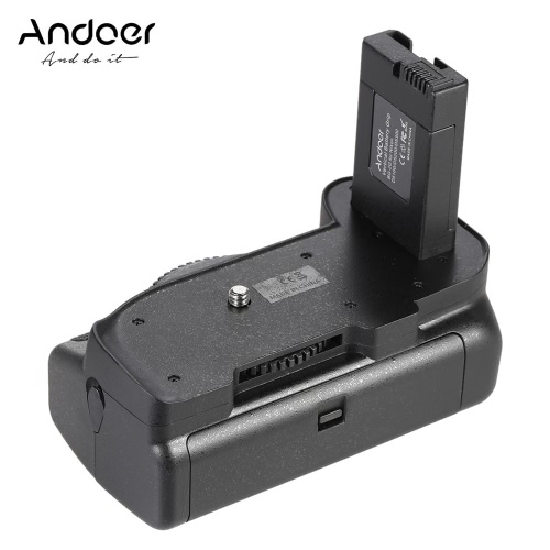 Andoer BG-2G pionie Battery Grip Uchwyt do Nikon D5100 D5200 D5300 DSLR Camera EN-EL 14 Bateria