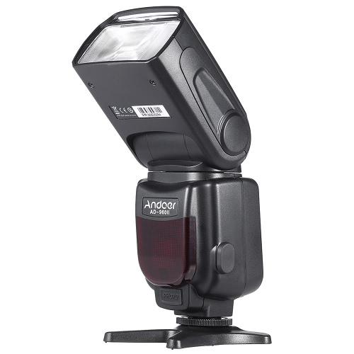 Andoer AD-960IIユニバーサルLCDディスプレイオンカメラスピードライトフラッシュ