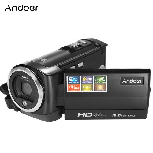 Andoer Mini tragbare LCD-Bildschirm HD Digital Video Recorder