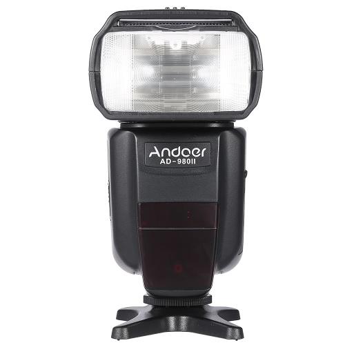 キヤノン 5 D マーク III/5 D マーク II/6 D/5 D/7 D/60 D/50 D/40 D/30 D/700 D/100 D/650 D/600 D/550 D/500 D/450 D デジタル一眼レフ カメラの Andoer 広告-980II E TTL HSS 1/8000 s のマスターのスレーブ GN58 フラッシュ スピード ライト