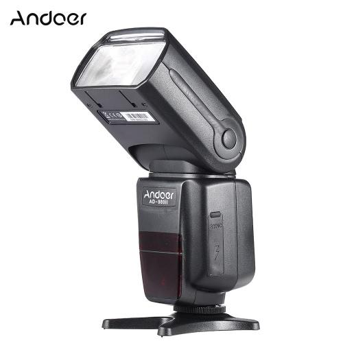 Andoer AD-980II i-TTL HSS 1 / 8000s Master Slave GN58 Flash Speedlite Nikon D7200 D7100 D7000 D5200 D5100 D5000 D3000 D3100 D3200 D3300 DSLR Camera