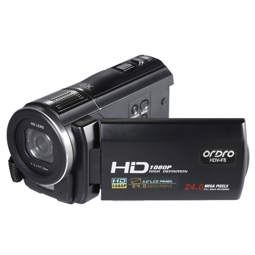 ORDRO HDV-F5 1080 P Full HD 3.0