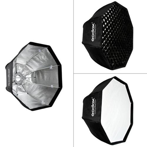 Godox SB-UE 80cm/31,5 po Portable octogone en nid d'abeille grille parapluie Softbox avec Bowens support pour flash Speedlite