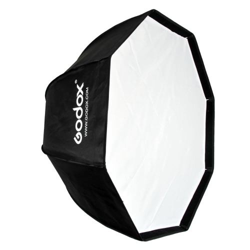 Godox SB-UE 80cm/31,5 po Portable octogone en nid d'abeille grille parapluie Softbox avec Bowens support pour flash Speedlite