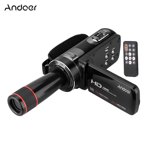 Cámara de video digital Full HD Andoer HDV-Z8 1080P