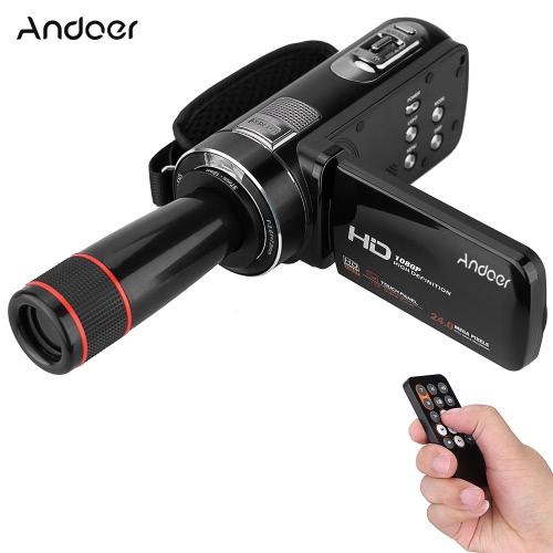Andoer HDV-Z8 1080P Kamera cyfrowa z cyfrową kamerą wideo Full HD