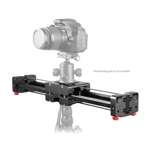 Andoer Retractable Camera Video Slider Dolly 52cm Track Rail Stabilizer 104cm Actual Sliding Distance Load Up to 8kg for Canon Nikon Sony DSLRs Camcorders
