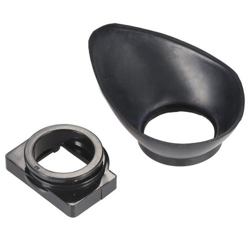 Rubber 22mm DSLR Camera Photo Eyecup Eye Cup Eyepiece Hood for Nikon D7100 D7000 D5200 D5100 D5000 D3200 D3100 D3000 D90 D80