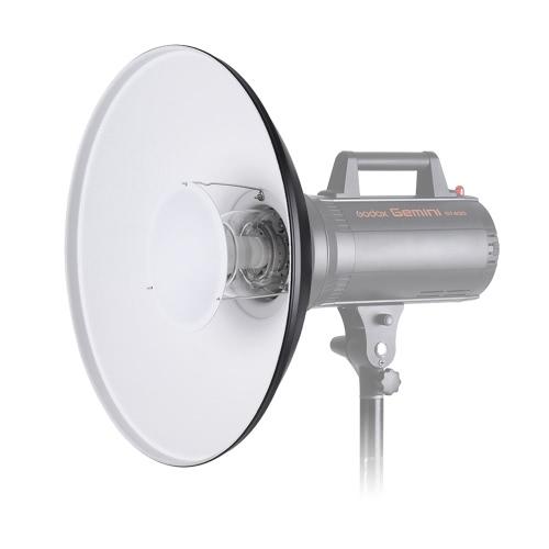 Fotografia Studio 55cm / 22 cali Black & White Speedlite Strobe Lighting Dyfuzor Beauty Dish Abażur Bowens Góra z reflektorem Honeycomb miękką ściereczką