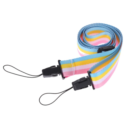 Adjustable Colorful Rainbow Comfortable Camera Neck Strap for Fujifilm Instax Mini 8 70  Instant Film Camera