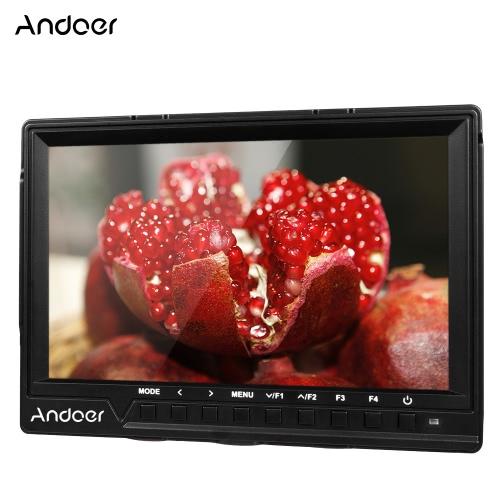 Andoer 7'' ultra-mince caméra moniteur vidéo