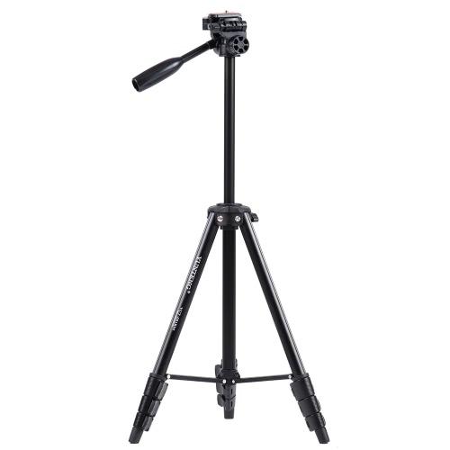 ソニーILDCデジタルカメラ用ユニバーサルスマートフォンのマウントYUNTENG681ポータブルアルミ合金の軽量三脚搬質量2.5KG