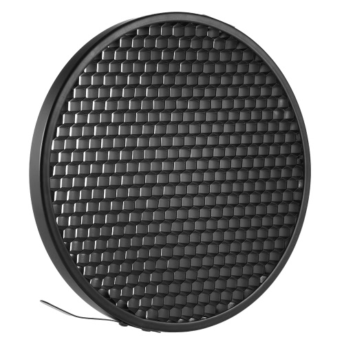 """Photo Studio 16.8cm 60 Degrés Honeycomb Grille pour 7 """"Standard Réflecteur Réflecteur Lampe Abat Jour"""