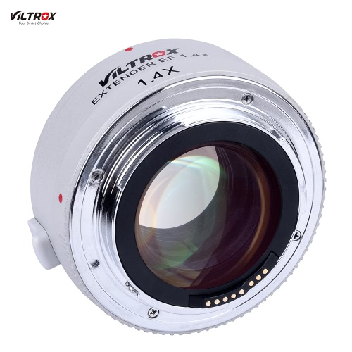 Viltrox EF 1.4× Extender Teleconverter Auto Focus Optical Glass Support Full Frame for Canon 550D/T2i 600D/T3i 650D/T4i 700D/T5i 760D/750D 5DII 5DIII 5DS 5DSR 6D 70D 80D 7DII DSLR Camera