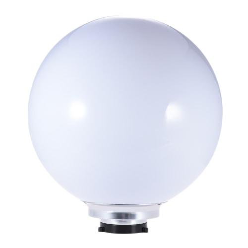 ボーエン山でストロボスタジオフラッシュライトのための50センチメートル/ 20IN受光球ソフトボール写真アクセサリ