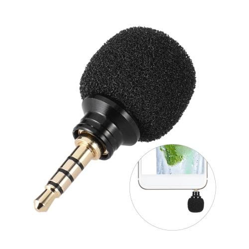 Andoer Mobile Smartphone Portable Mini omnidirectionnelle Mic Microphone pour flûte à bec pour 6s iPad d'Apple iPhone5 6 Plus