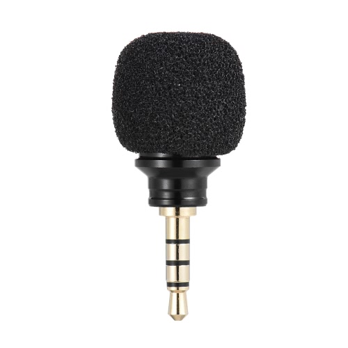 Andoer Cellulare Smartphone Mini omnidirezionale Mic microfono per Recorder per 6s iPad di Apple iPhone5 6 Plus