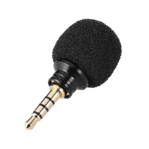 Mobiltelefon Smartphone Tragbares Mini-Omni-Directional-Mikrofon für Recorder für iPad Apple iPhone5 6s 6 Plus