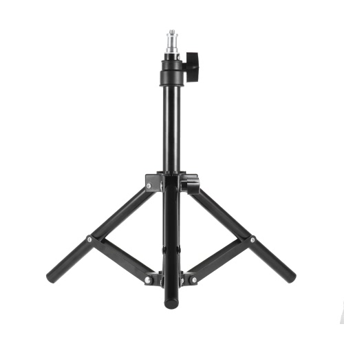 Andoer Photographie Photo Studio 50cm / 20inch en alliage d'aluminium Mini lumière Stand de table Backlight Support