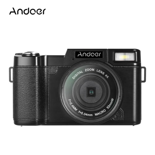 Andoer R1 1080P 15fps Full HD 24MP Digital Camera Cam Camcorder