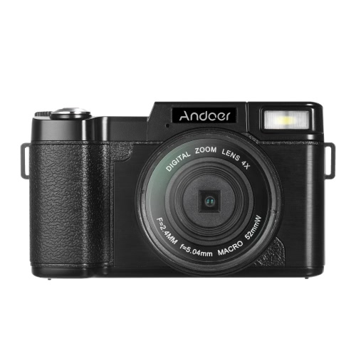 Andoer R1 1080P 15fps Full HD 24MP Digital Camera Cam Camcorder 3.0