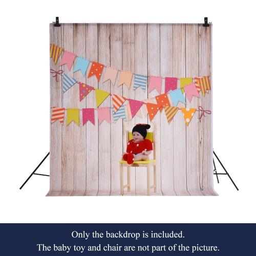1,5 * 2m / 4,9 * Tło 6.5ft Fotografia tle Computer Printed Oznacz Wood Pattern dla dzieci Kid Dziecko Noworodek Pet zdjęcie portret studio fotografowania